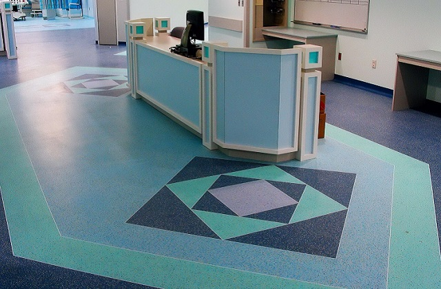 stonres rtz flooring in hospital